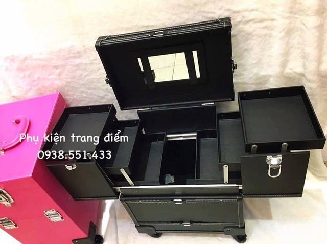 cốp thùng trang điểm vali kéo cao cấp giá rẻ tphcm