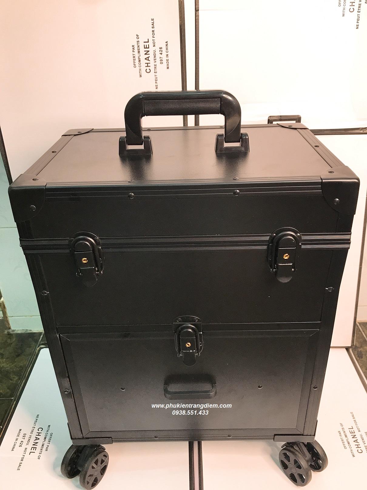 bán cốp vali kéo đựng dụng cụ phun xăm nối mi làm nail chuyên nghiệp