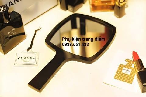 bán gương trang điểm chanel cầm tay giá rẻ tphcm