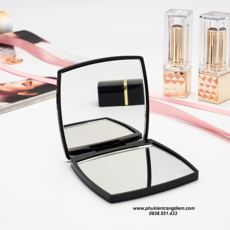 bán gương trang điểm chanel mini bỏ túi cao cấp