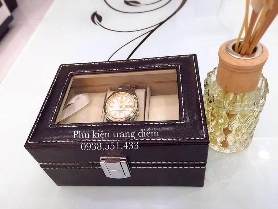 Hộp đựng 3 cái đồng hồ bằng da sang trọng và cực đẹp
