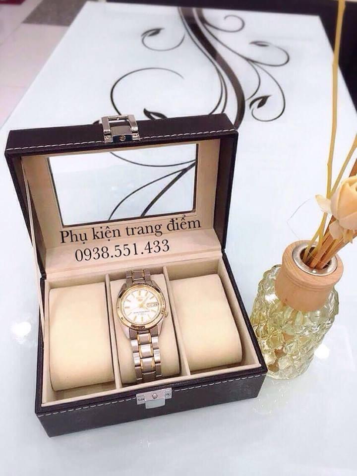 Nhiều mẫu Hộp đựng đồng hồ đẹp và sang trọng
