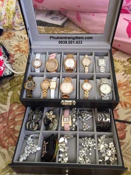 hộp đựng đồng hồ 20 chiếc giá rẻ tphcm