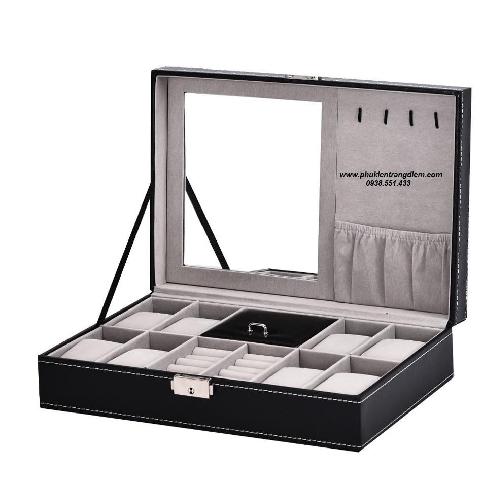 Nơi bán hộp đựng đồng hồ và trang sức cao cấp giá rẻ tphcm
