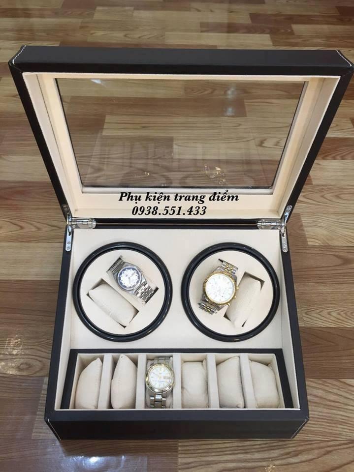 mẫu hộp đựng đồng hồ cơ xoay giá rẻ