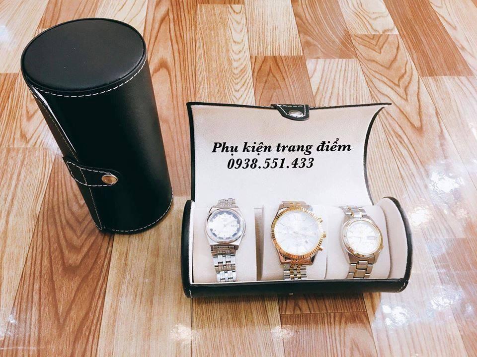 hộp đựng đồng hồ 3 chiếc