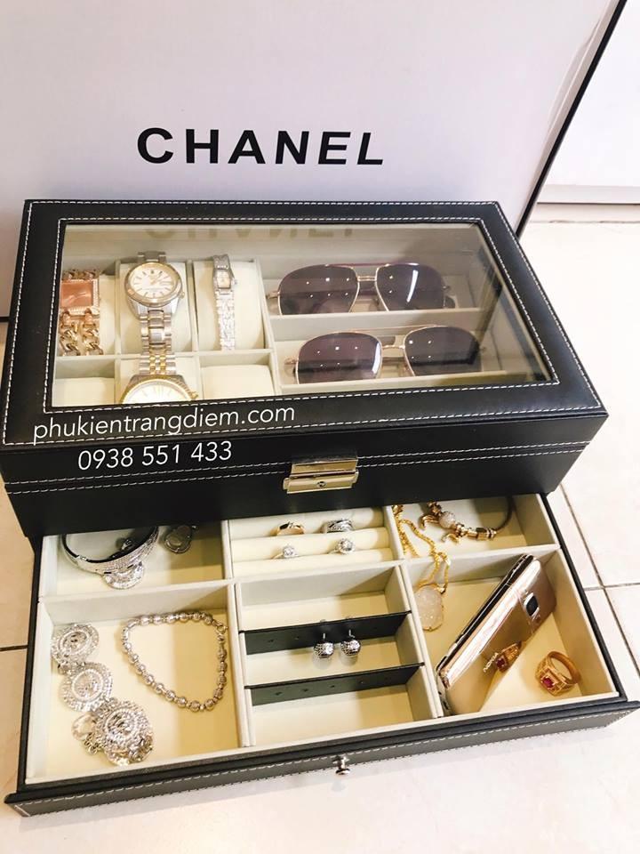 hộp đồng hồ trang sức mắt kính bền đẹp giá rẻ