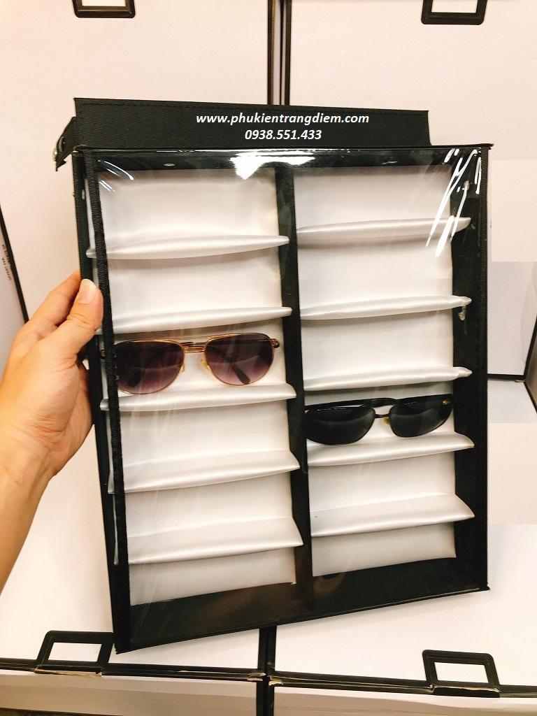 kệ khay trưng bày mắt kính nhiều ngăn