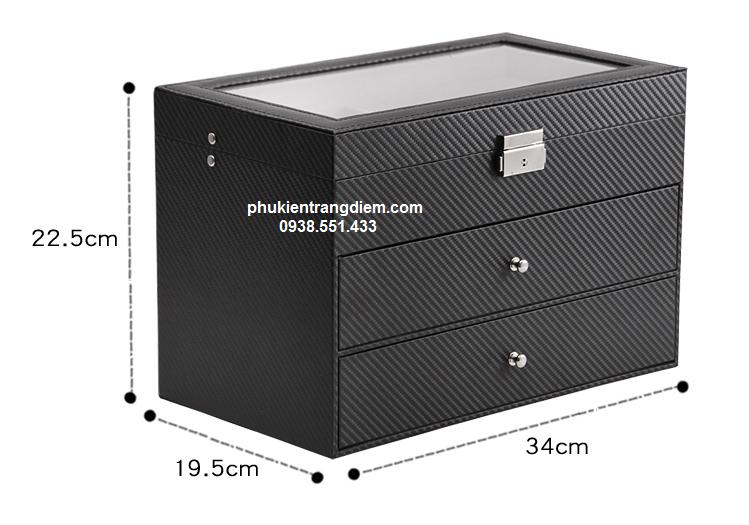 bán hộp đựng mắt kính nhiều ngăn 18 cái 3 tầng tphcm
