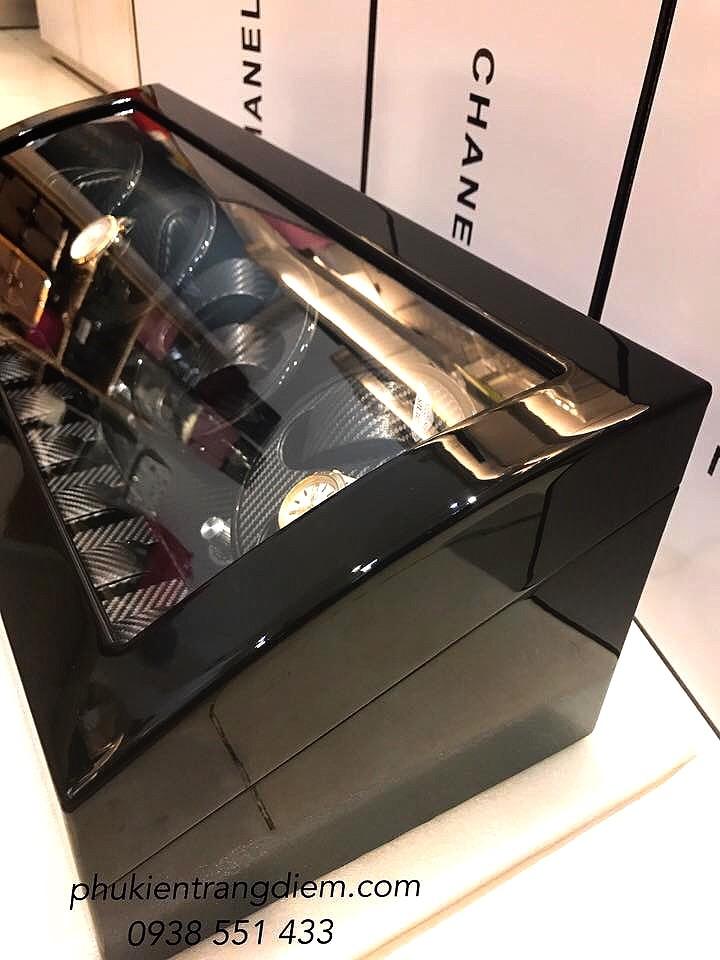 hộp đưng đồng hồ xoay tự động automatic nhiều 8 chiếc