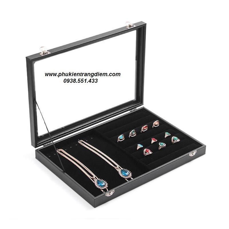 Bán hộp đựng trưng bày dây chuyền nhẫn và trang sức giá rẻ