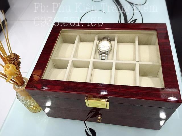 chỗ bán hộp đồng hồ gỗ ?