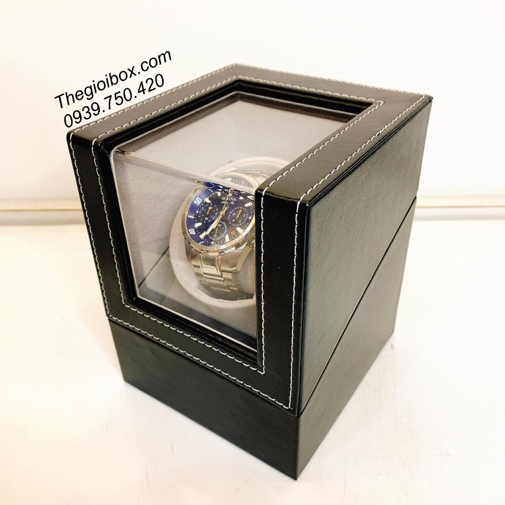 hộp lắc xoay đồng hồ cơ tự quay lên cót cho đồng hồ
