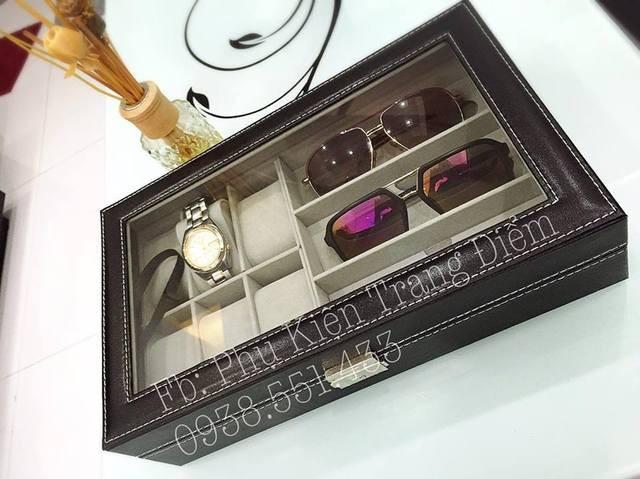 hộp đồng hồ và kính
