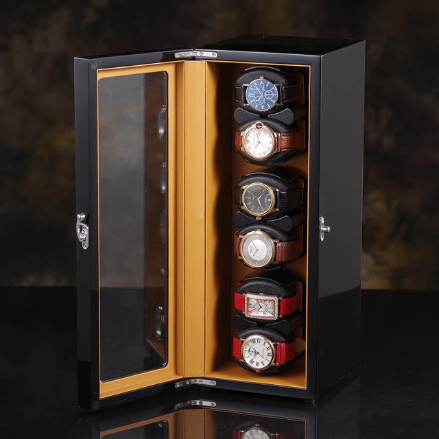 tủ đứng mini lắc đồng hồ cơ tự động xoay
