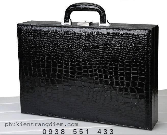 vali đựng đồng hồ nhiều ngăn da cá sấu cao cấp giá rẻ