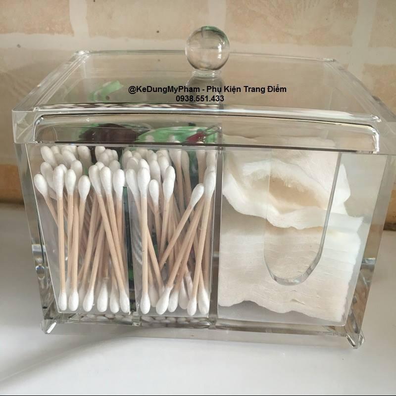 Tổng hợp các mẫu hộp đựng bông cotton