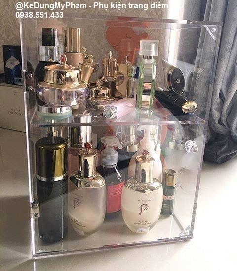 Tủ mini đựng nước hoa - mỹ phẩm
