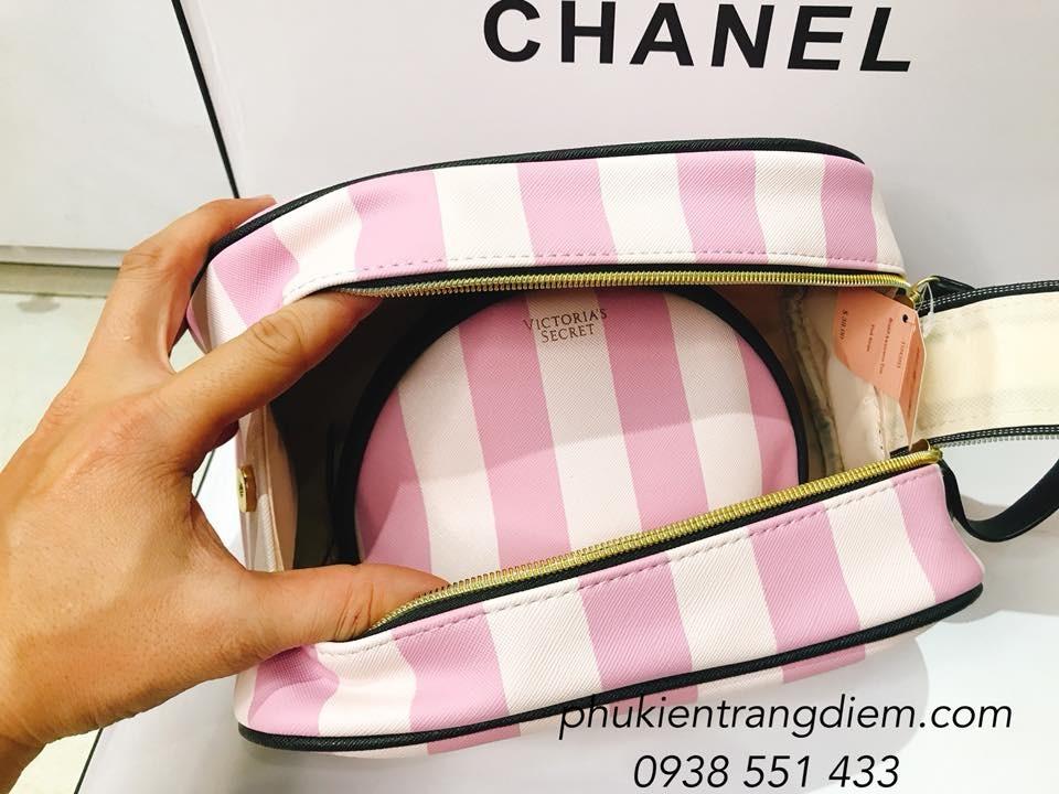 bán túi đựng mỹ phẩm trang điểm du lịch victoria secret giá rẻ