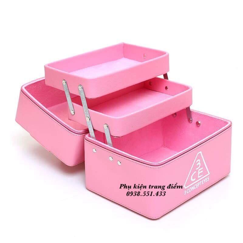 bán hộp đựng trang điểm cá nhân 3CE mini giá rẻ