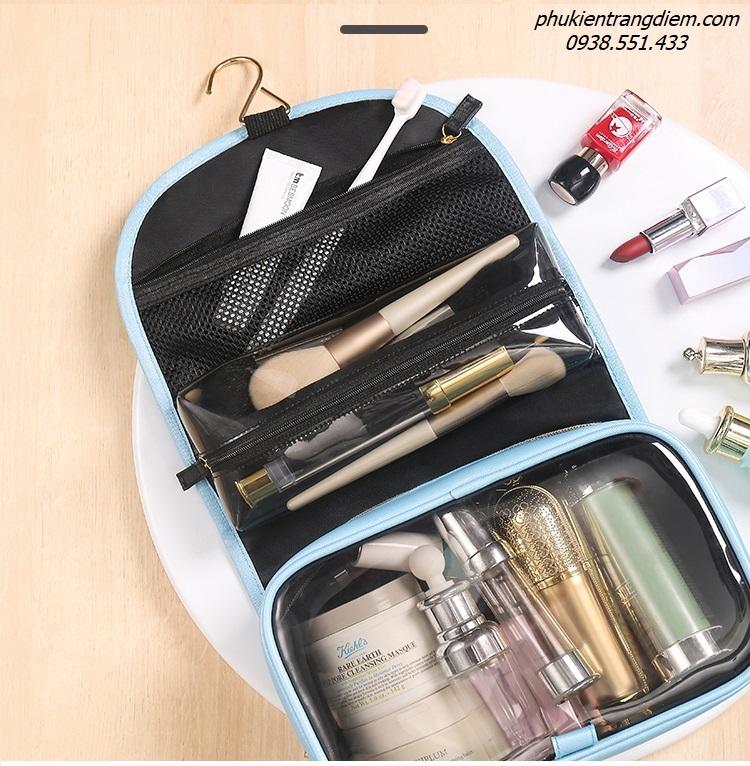 túi trang điểm đựng đồ cá nhân đi du lịch tiện dụng chống nước